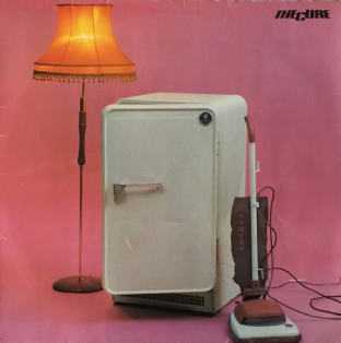 Cure (The) - Three Imaginary Boys (LP) (G-VG/G+)